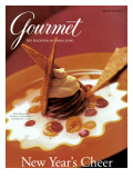Gourmet Cover - January 1997 Regular Giclee Print by Romulo Yanes