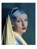 Vogue - August 1945 Regular Photographic Print by Erwin Blumenfeld
