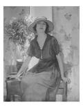 Vogue - April 1921 Regular Photographic Print by Baron Adolphe De Meyer