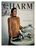 Charm Cover - March 1947 Premium Giclee Print by Hal Reiff