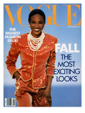 Vogue Cover - September 1989 Regular Giclee Print by Patrick Demarchelier
