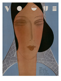 Vogue Cover - September 1929 Regular Giclee Print by Eduardo Garcia Benito