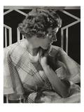 Vanity Fair - August 1933 Regular Photographic Print by Edward Steichen