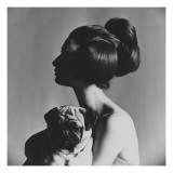 Vogue - September 1963 Regular Photographic Print by Karen Radkai