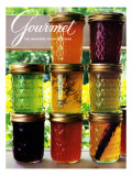 Gourmet Cover - September 1985 Regular Giclee Print by Romulo Yanes