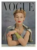 Vogue Cover - May 1950 - Bracelet Envy Regular Giclee Print by John Rawlings
