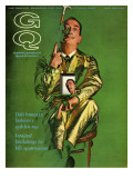 GQ Cover - October 1963 Premium Giclee Print by Chadwick Hall