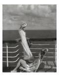 Vogue - July 1934 - Cruising to Hawaii Regular Photographic Print by Edward Steichen