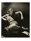 Vanity Fair Premium Photographic Print by Edward Steichen