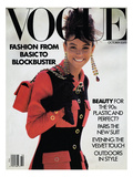 Vogue Cover - October 1989 Regular Giclee Print by Patrick Demarchelier