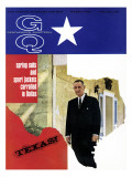 GQ Cover - March 1966 Premium Giclee Print by Leonard Nones