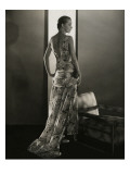 Vogue - November 1929 Regular Photographic Print by Edward Steichen