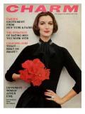 Charm Cover - November 1956 Premium Giclee Print by Carmen Schiavone
