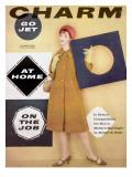 Charm Cover - October 1958 Premium Giclee Print by Carmen Schiavone