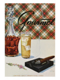 Gourmet Cover - January 1943 Regular Giclee Print by Henry Stahlhut