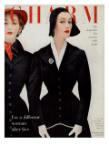 Charm Cover - October 1952 Premium Giclee Print by William Helburn