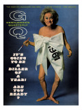 GQ Cover - December 1966 Premium Giclee Print by Carl Fischer