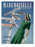Mademoiselle Cover - May 1942 Regular Giclee Print by Luis Lemus