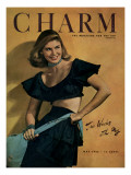 Charm Cover - May 1946 Premium Giclee Print by Jon Abbot