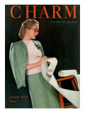 Charm Cover - January 1944 Premium Giclee Print by  Roedel-Farkas