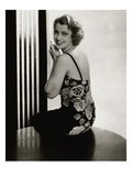 Vanity Fair - January 1935 Regular Photographic Print by Edward Steichen