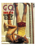 GQ Cover - June 1971 Premium Giclee Print by Douglas Mesney