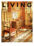 Living for Young Homemakers Cover - September 1957 Premium Giclee Print by F. M. Demarest
