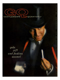 GQ Cover - December 1959 Regular Giclee Print by  Casele-Chadwick