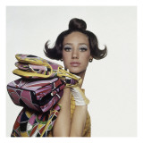 Vogue - August 1965 Premium Photographic Print by Bert Stern