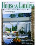 House & Garden Cover - June 1959 Regular Giclee Print by Julius Shulman