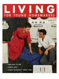 Living for Young Homemakers Cover - January 1951 Premium Giclee Print by Alan Fontaine