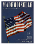 Mademoiselle Cover - July 1942 Regular Giclee Print by Luis Lemus