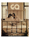 GQ Cover - April 1971 Premium Giclee Print by Arthur Elgort
