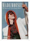 Mademoiselle Cover - December 1939 Regular Giclee Print by Paul D'Ome