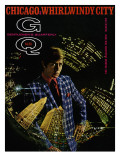 GQ Cover - March 1969 Premium Giclee Print by Leonard Nones