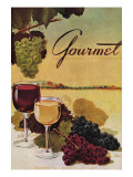 Gourmet Cover - October 1942 Regular Giclee Print by Henry Stahlhut
