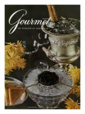 Gourmet Cover - January 1961 Regular Giclee Print by Arthur Palmer