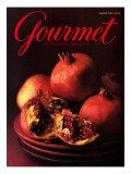 Gourmet Cover - January 2000 Regular Giclee Print by Romulo Yanes