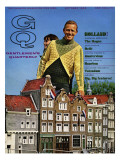 GQ Cover - October 1966 Premium Giclee Print by Richard Waite