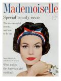 Mademoiselle Cover - June 1959 Regular Giclee Print by Mark Shaw