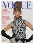 Vogue Cover - September 1963 Premium Giclee Print by Bert Stern