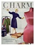 Charm Cover - February 1946 Premium Giclee Print by Jon Abbot