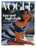 Vogue Cover - April 1989 Regular Giclee Print by Patrick Demarchelier