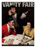 Vanity Fair Cover - July 1934 Premium Giclee Print by Anton Bruehl