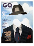GQ Cover - December 1974 Premium Giclee Print by Unknown Victor Valla & Eric Meola