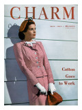 Charm Cover - May 1944 Premium Giclee Print by  Farkas