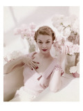Vogue - May 1950 Premium Photographic Print by John Rawlings