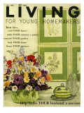 Living for Young Homemakers Cover - July 1960 Premium Giclee Print by John Bendixsen