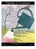 House & Garden Cover - July 1925 Regular Giclee Print by André E. Marty