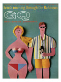 GQ Cover - June 1965 Premium Giclee Print by Robert Jackson